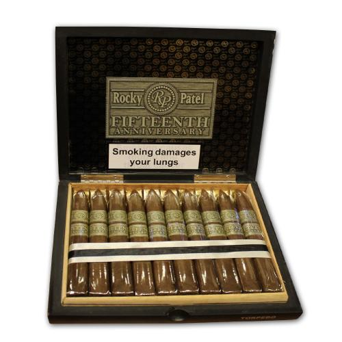 Rocky Patel - 15th Anniversary - Torpedo Cigar - Box of 20