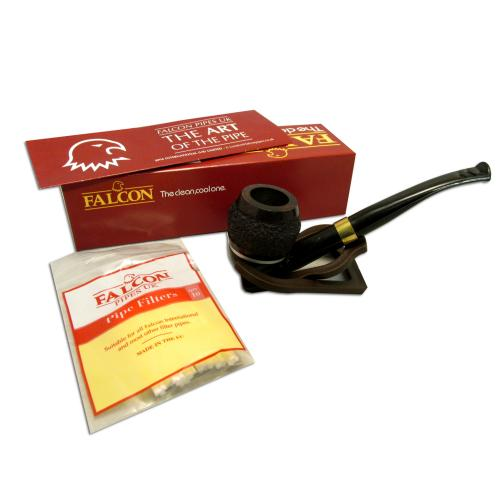 Falcon International Rustic Bent Dental Genova Pipe