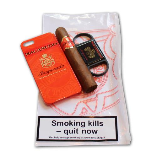Macanudo Mareva Cigar and Cutter Set - iPhone 5S Orange Case