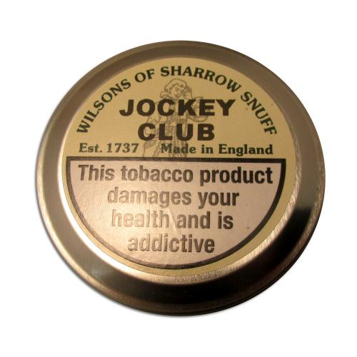 Wilsons of Sharrow Snuff - Jockey Club - Large Tin - 20g