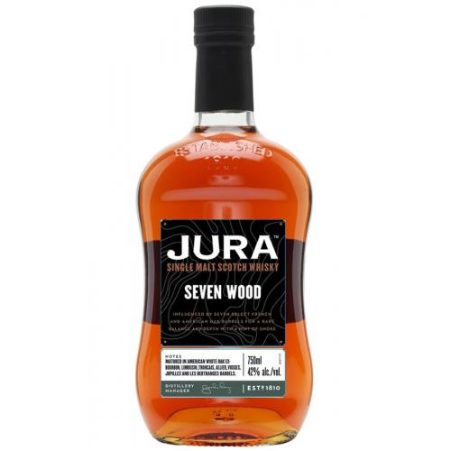 Jura Seven Wood Without Tin - 42% 70cl (Isle of Jura)