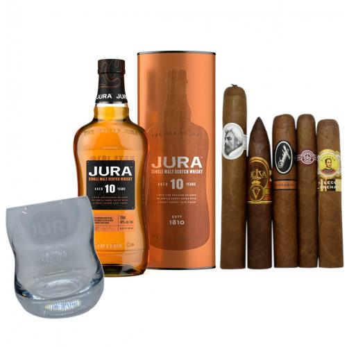 Exclusive - Jura 10 Year Old + Luxury Cigar Selection Pairing