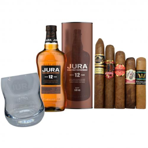 Exclusive - Jura 12 Year Old + New World Cigar Selection Pairing