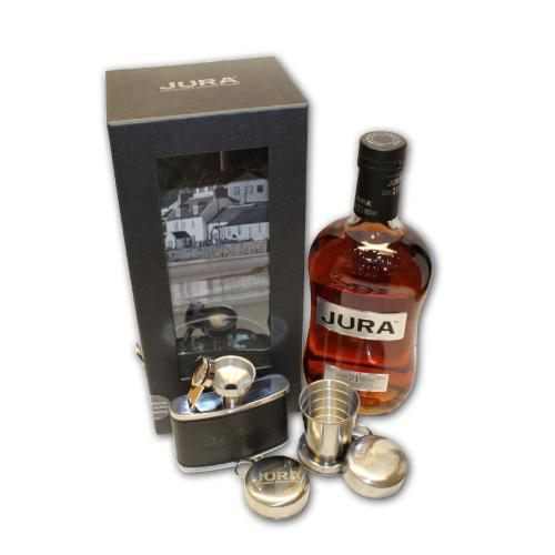 Isle of Jura 21 Year Old Gift Pack - 70cl Bottle & Accessories