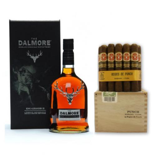 Dalmore King Alexander III + Punch Limited Edition Regios de Punch Pairing