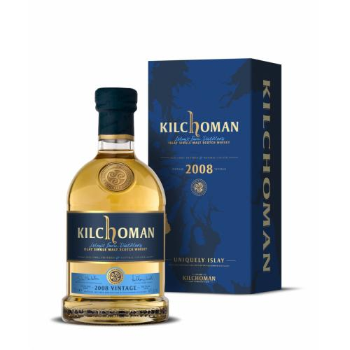 Kilchoman 2008 Vintage Single Malt Scotch Whisky - 70cl 46%