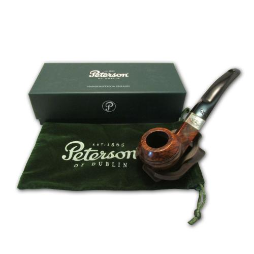 Peterson Kildare Silver Mount Pipe - 080s (Smooth)