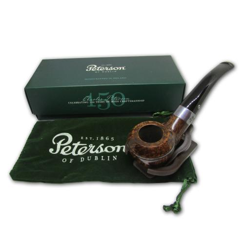 Peterson Kildare Silver Mount Pipe - 999 (Smooth)