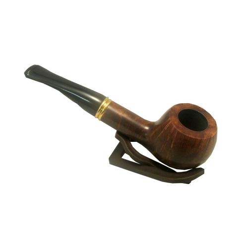 Peterson Liscannor Curved Fishtail Pipe 408 Smooth