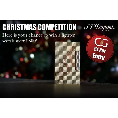 Christmas Competition Entry - ST Dupont Prize