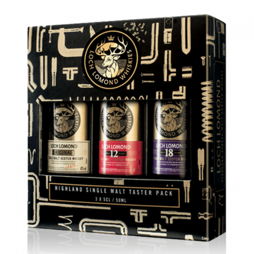 Loch Lomond Miniature Tasting Pack - 3x5cl
