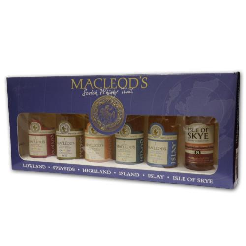 MacLeods Scotch Whisky Trail Gift Pack 6 x 5cl