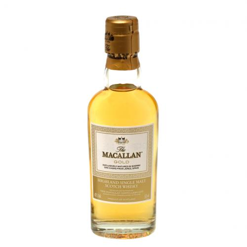 Macallan Gold Highland Single Malt Scotch Whisky Miniature - 5cl 40%