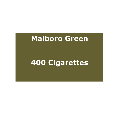 Marlboro Green - 20 pack of 20 Cigarettes (400) - End of Line