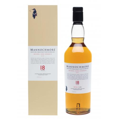 Mannochmore 18 Year Old 1990 Cask Strength - 2009 Release 70cl 54.9%