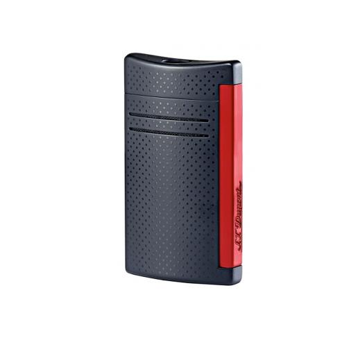 ST Dupont Lighter - Maxijet - Matt Black and Red