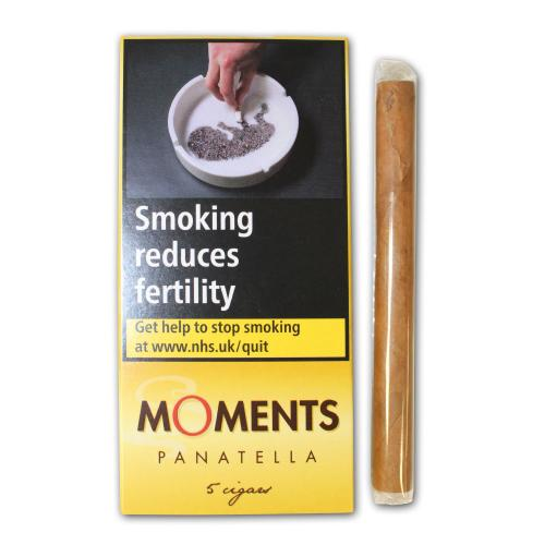 Moments Panatella - 5 Packs of 5
