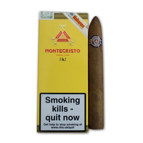 Montecristo No. 2 Cigar - Pack of 3