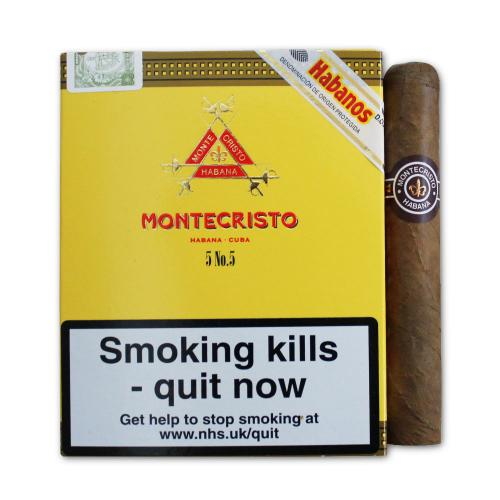 Montecristo No. 5 Cigar - Pack of 5 cigars