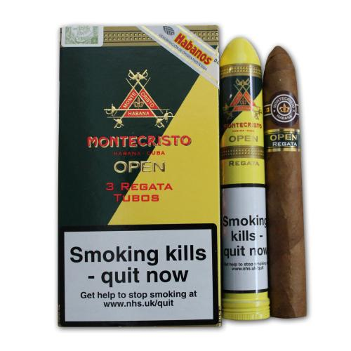 Montecristo Open Regata Tubed Cigar - Pack of 3