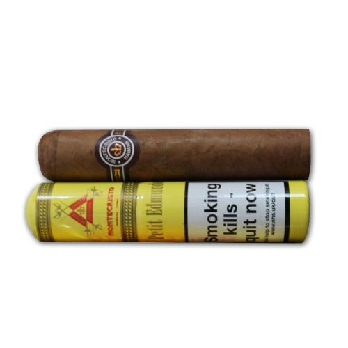 Montecristo Petit Edmundo Tubed Cigar - 1 Single