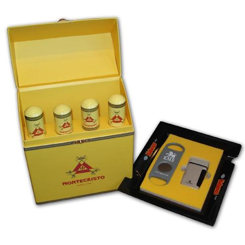 EMS Havana Cigar Gift Hamper - Montecristo and Cigar Accessories Set (Discontinu