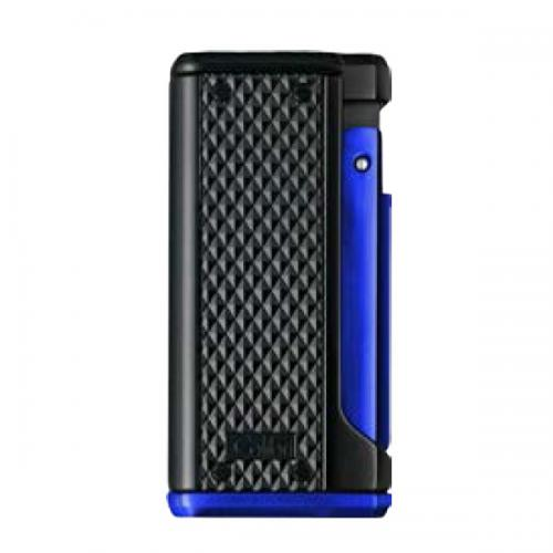 Colibri Monza III - Triple Jet Lighter - Black and Blue (Discontinued)