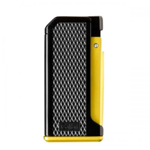 Colibri Monza Single Jet Lighter - Yellow  (Discontinued)