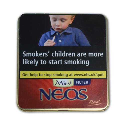 Neos Feelings Filter Red Mini – 10 x Tins of 10