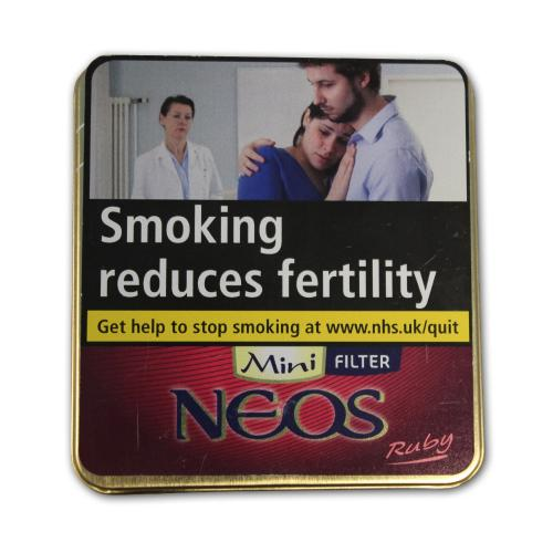 Neos Feelings Filter Ruby Mini – Tin of 10