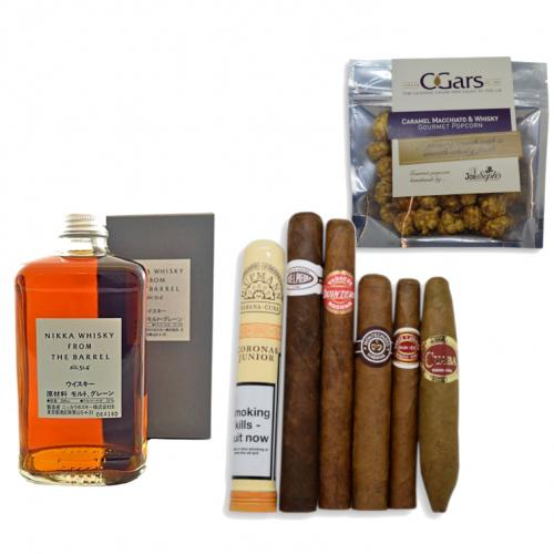 Nikka From The Barrel Japanese Whisky + Cuban Cigar Selection Pairing