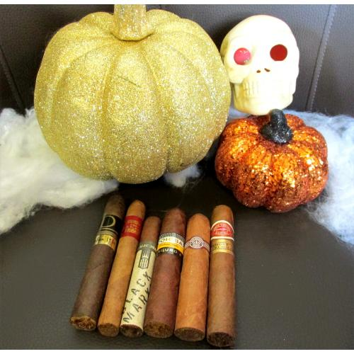 No Tricks, Just Treats Halloween Sampler - 6 Cigars