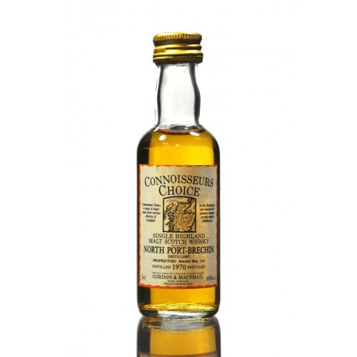 North Port Brechin 1970 Connoisseurs Choice Whisky Single Miniature - 5cl 40%