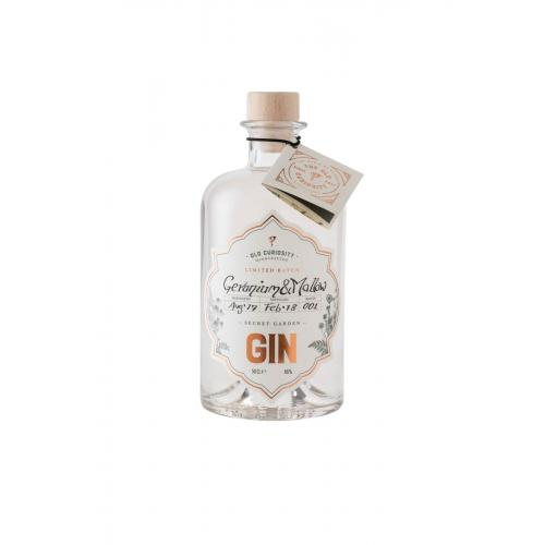 JANUARY SALE - Old Curiosity Geranium and Mallow Colour Changing Gin - 50cl 46%