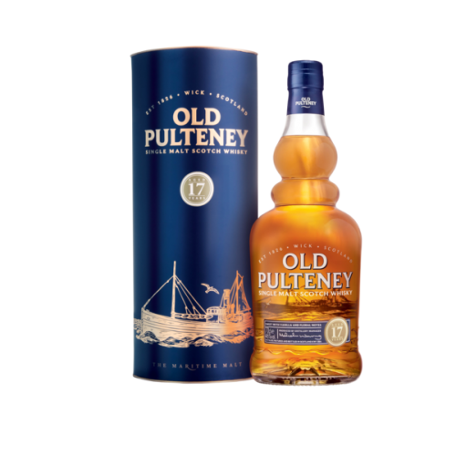 Old Pulteney 17 Year Old Non Chill-Filtered Single Malt Whisky - 70cl 46%