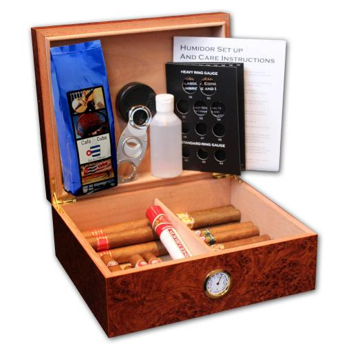 Office Compendium Humidor - The Essential Cigar Selection