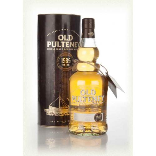 Old Pulteney 26 Year Old 1989 Single Malt Scotch Whisky - 70cl 46%