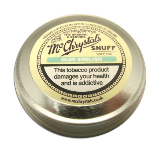 McChrystal\'s Olde English Snuff - Large Tin - 8.75g
