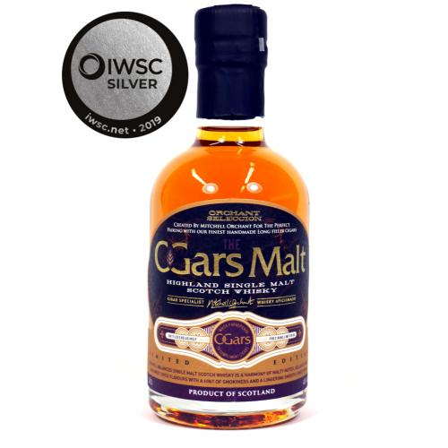 C.Gars Malt Orchant Selection Cigar Malt Whisky – 20cl 40%