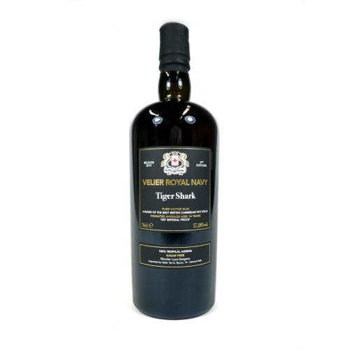 Velier Royal Navy Tiger Shark Pure Vatted Rum - 70cl 57.18%