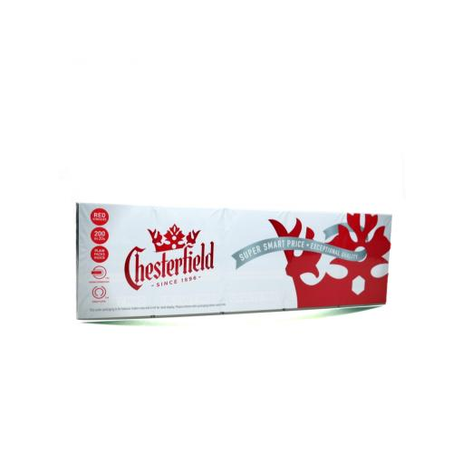 Chesterfield Red Kingsize - 10 packs of 20 Cigarettes (200)