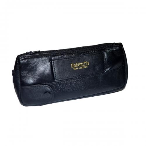Dr Plumb Real Leather Combination Tobacco Pouch