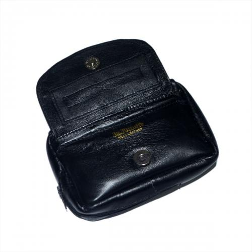 Dr Plumb Combination Leather Tobacco Pouch with Rounded Corners