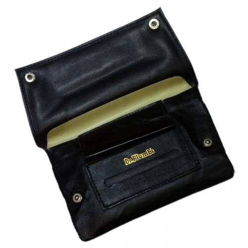 Dr Plumb Tobacco Pouch with Paper & Lighter Holders