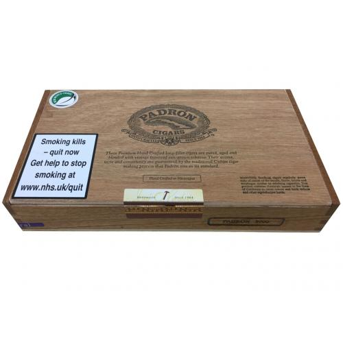 Empty Padron 2000 Natural Cigar Box