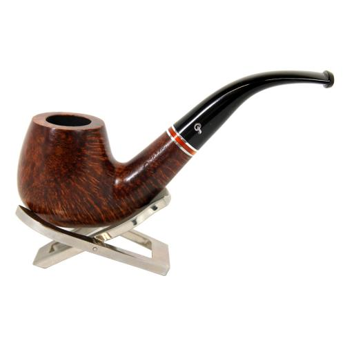 Peterson Dalkey 68 Nickle Band Bent Fishtail Pipe (PE068)