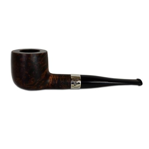 Peterson Aran Smooth 606 Nickel Mounted Fishtail Pipe (PE077)