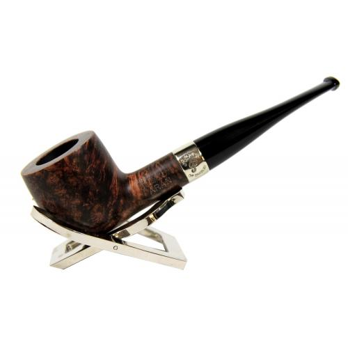 Peterson Aran 606 Smooth Nickel Mounted Fishtail Pipe (PE077)