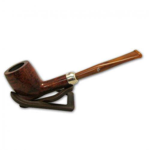 Peterson Short Classic 15 Silver Mounted Fishtail Pipe (PE463)