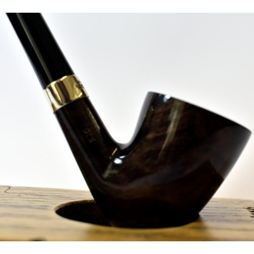 Peterson Churchwarden D15 Grey Nickel Mounted Fishtail Pipe (PEC165)